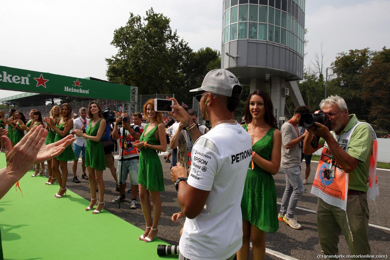 GP ITALIA, 04.09.2016 - Lewis Hamilton (GBR) Mercedes AMG F1 W07 Hybrid
