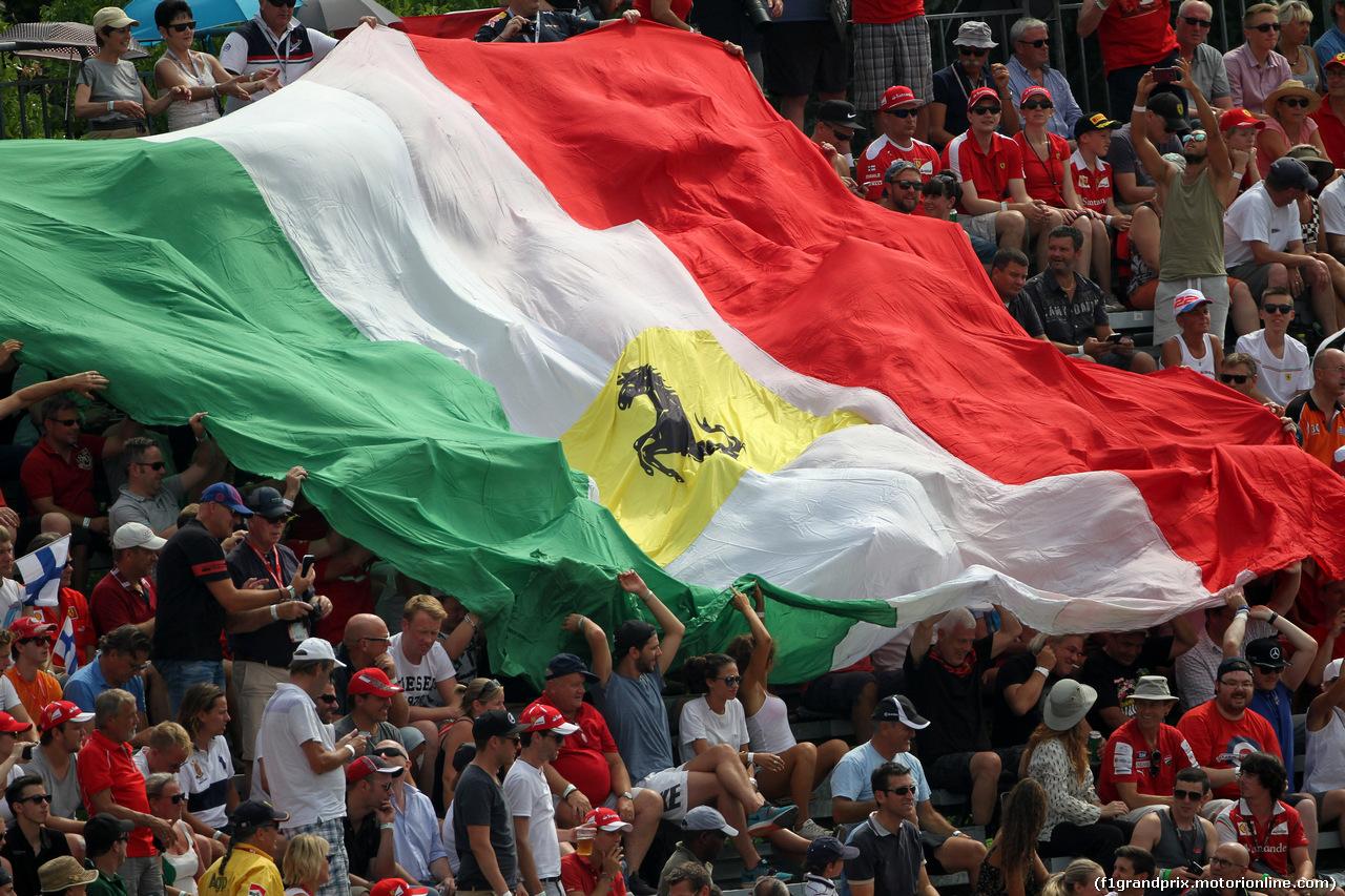 GP ITALIA, 04.09.2016 - Gara, Ferrari Fans