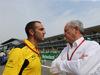 GP ITALIA, 04.09.2016 - Gara, Cyril Abiteboul (FRA) Renault Sport F1 Managing Director e Jerome Stoll (FRA) Renault Sport F1 President