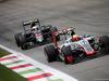 GP ITALIA, 04.09.2016 - Gara, Esteban Gutierrez (MEX) Haas F1 Team VF-16 davanti a Jenson Button (GBR)  McLaren Honda MP4-31