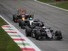 GP ITALIA, 04.09.2016 - Gara, Fernando Alonso (ESP) McLaren Honda MP4-31 davanti a Nico Hulkenberg (GER) Sahara Force India F1 VJM09