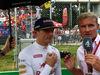 GP ITALIA, 04.09.2016 - Gara, Max Verstappen (NED) Red Bull Racing RB12 e David Coulthard (GBR)