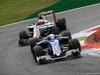 GP ITALIA, 04.09.2016 - Gara, Marcus Ericsson (SUE) Sauber C34 e Esteban Gutierrez (MEX) Haas F1 Team VF-16