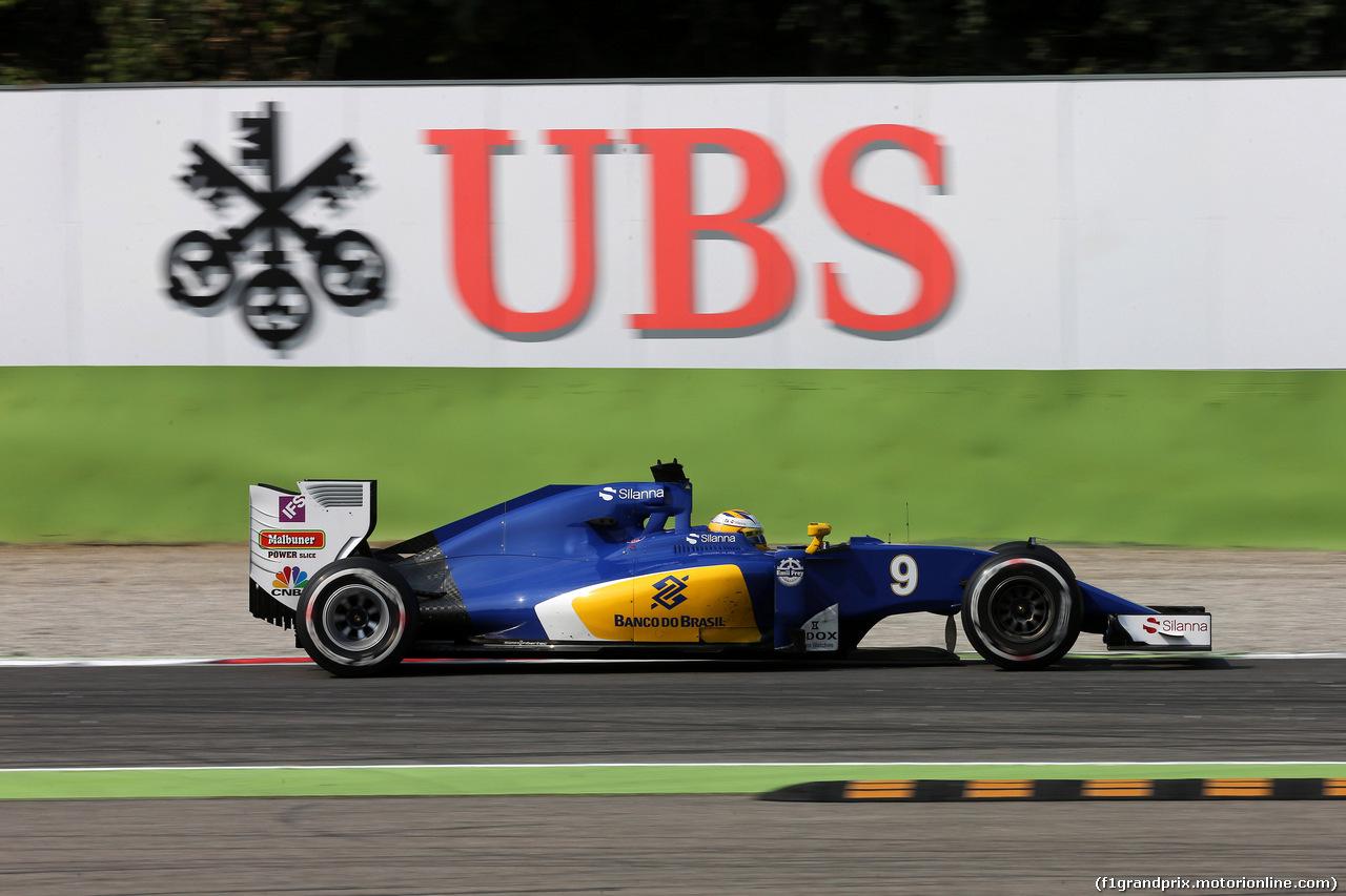 GP ITALIA, 02.09.2016 - Prove Libere 2, Marcus Ericsson (SUE) Sauber C34