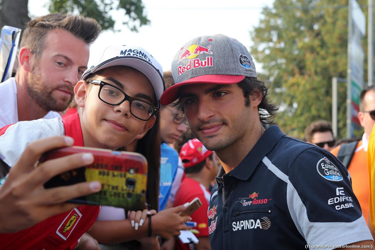 GP ITALIA, 03.09.2016 - Carlos Sainz Jr (ESP) Scuderia Toro Rosso STR11