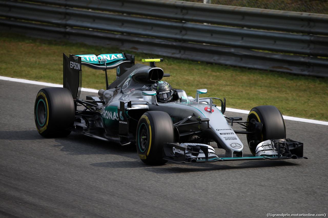 GP ITALIA, 03.09.2016 - Prove Libere 3, Nico Rosberg (GER) Mercedes AMG F1 W07 Hybrid