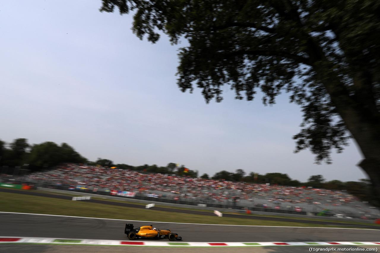 GP ITALIA, 03.09.2016 - Prove Libere 3, Kevin Magnussen (DEN) Renault Sport F1 Team RS16