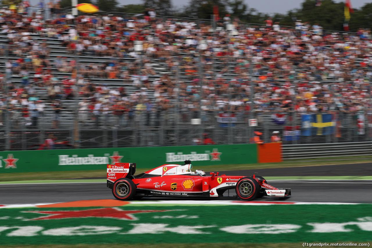 GP ITALIA, 03.09.2016 - Prove Libere 3, Sebastian Vettel (GER) Ferrari SF16-H