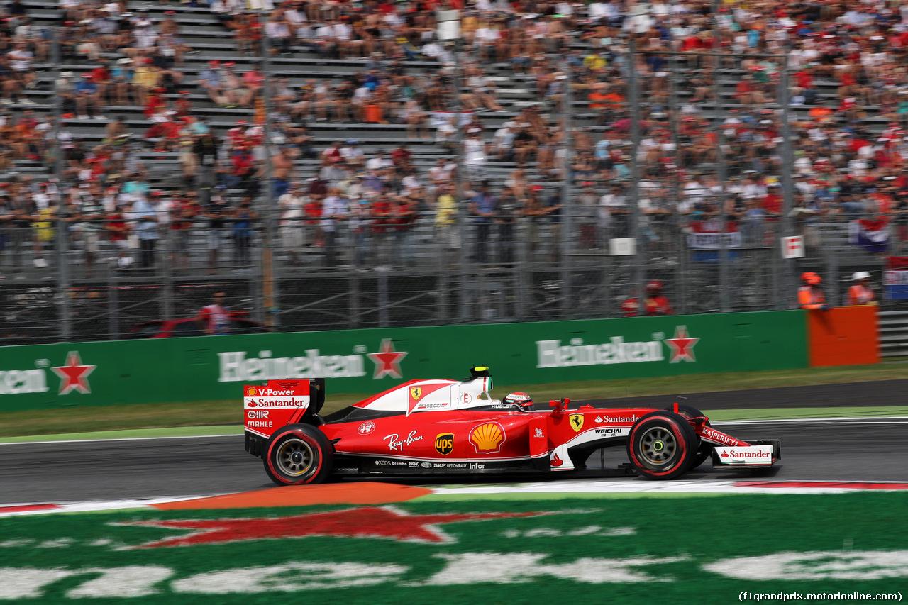 GP ITALIA, 03.09.2016 - Prove Libere 3, Kimi Raikkonen (FIN) Ferrari SF16-H