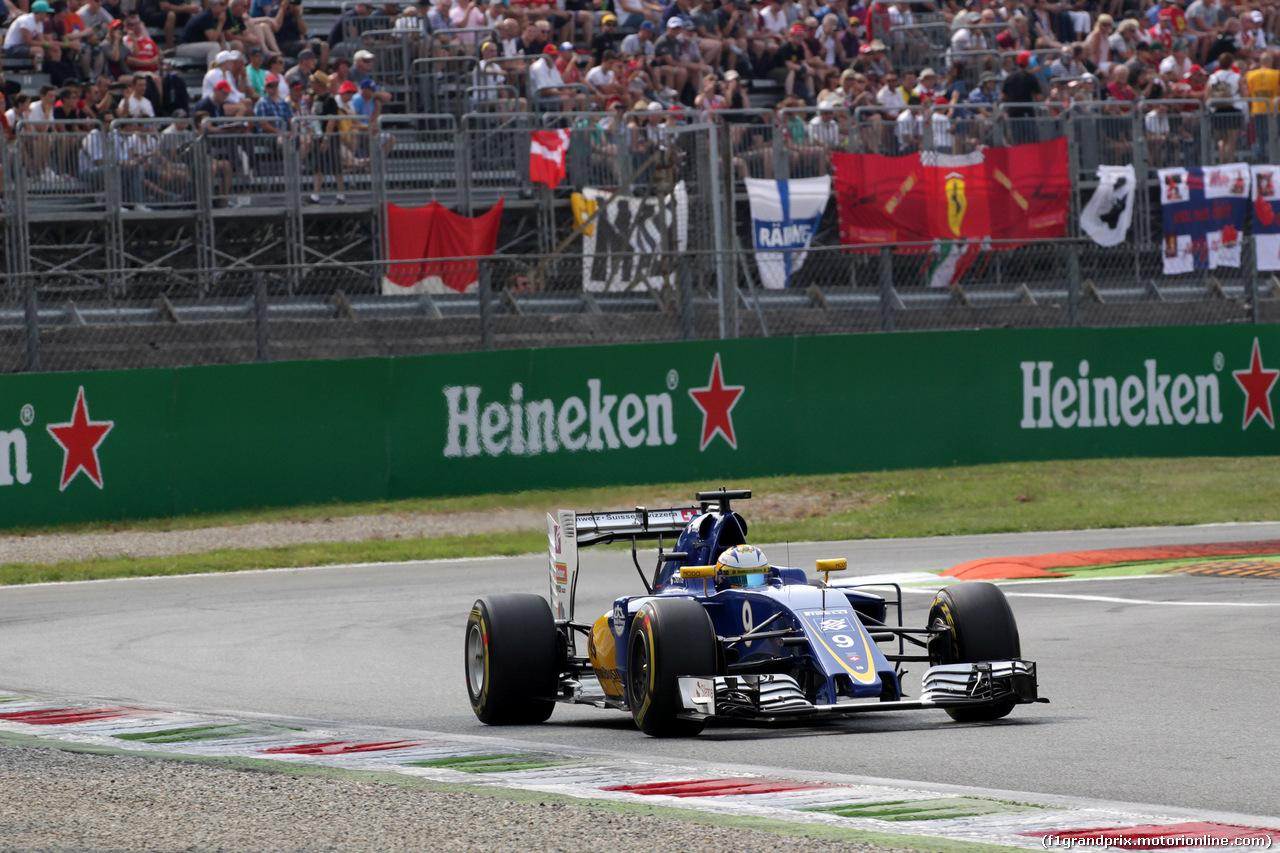 GP ITALIA, 03.09.2016 - Prove Libere 3, Marcus Ericsson (SUE) Sauber C34