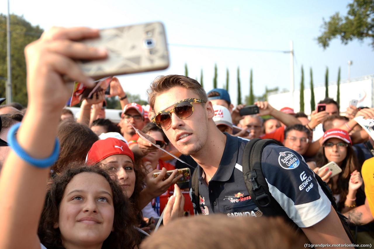 GP ITALIA, 03.09.2016 - Prove Libere 3, Daniil Kvyat (RUS) Scuderia Toro Rosso STR11