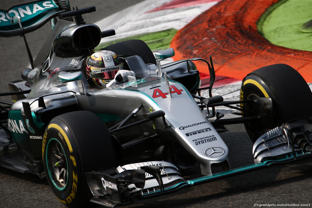 GP ITALIA, 03.09.2016 - Prove Libere 3, Lewis Hamilton (GBR) Mercedes AMG F1 W07 Hybrid