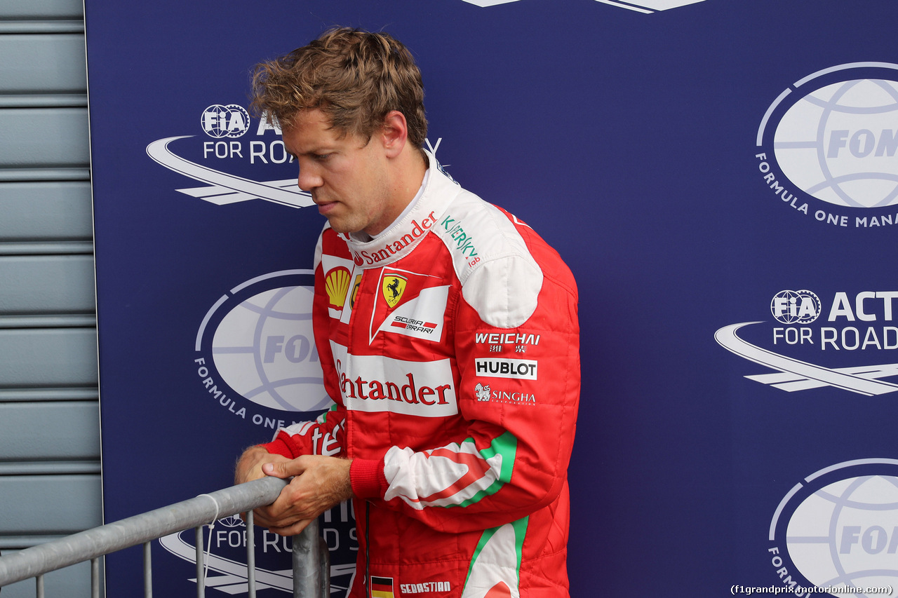 GP ITALIA, 03.09.2016 - Qualifiche, terzo Sebastian Vettel (GER) Ferrari SF16-H