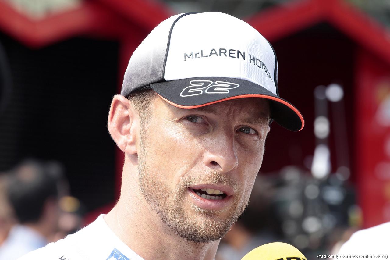 GP ITALIA, 03.09.2016 - Qualifiche, Jenson Button (GBR)  McLaren Honda MP4-31