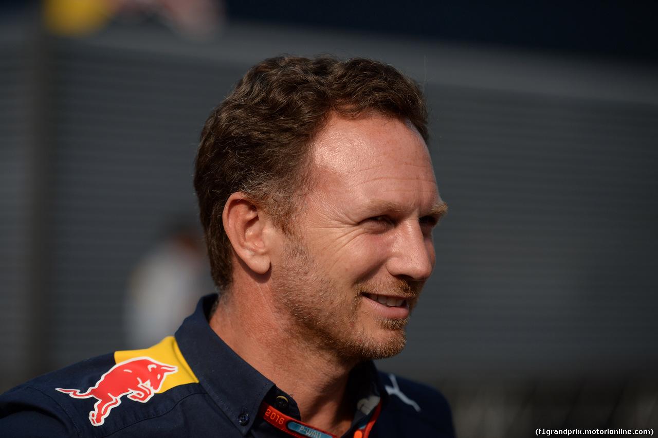 GP ITALIA, 03.09.2016 - Christian Horner (GBR), Red Bull Racing, Sporting Director