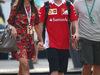 GP ITALIA, 03.09.2016 - Free Practice 3, Kimi Raikkonen (FIN) Ferrari SF16-H e sua moglie Minttu Raikkonen