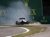 GP ITALIA, 03.09.2016 - Free Practice 3, Crash, Romain Grosjean (FRA) Haas F1 Team VF-16