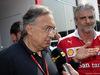 GP ITALIA, 03.09.2016 - Sergio Marchionne (ITA), Ferrari President e CEO of Fiat Chrysler Automobiles  e Maurizio Arrivabene (ITA) Ferrari Team Principal