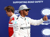 GP ITALIA, 03.09.2016 - Qualifiche, terzo Sebastian Vettel (GER) Ferrari SF16-H e Lewis Hamilton (GBR) Mercedes AMG F1 W07 Hybrid pole position