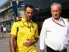 GP ITALIA, 03.09.2016 - Qualifiche, Cyril Abiteboul (FRA) Renault Sport F1 Managing Director e Jerome Stoll (FRA) Renault Sport F1 President