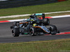GP MALESIA, 02.10.2016 - Gara, Sergio Perez (MEX) Sahara Force India F1 VJM09 davanti a Nico Rosberg (GER) Mercedes AMG F1 W07 Hybrid