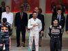 GP MONACO, 29.05.2016 - Gara, Lewis Hamilton (GBR) Mercedes AMG F1 W07 Hybrid vincitore, secondo Daniel Ricciardo (AUS) Red Bull Racing RB12 e terzo sSergio Perez (MEX) Sahara Force India F1 VJM09