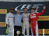 GP RUSSIA, 01.05.2016 - Gara, 1st position Nico Rosberg (GER) Mercedes AMG F1 W07 Hybrid, secondo Lewis Hamilton (GBR) Mercedes AMG F1 W07 Hybrid e Kimi Raikkonen (FIN) Ferrari SF16-H