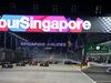 GP SINGAPORE, 18.09.2016 - Gara, Start of the race e Nico Hulkenberg (GER) Sahara Force India F1 VJM09 crashes out