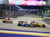 GP SINGAPORE, 18.09.2016 - Gara, Jolyon Palmer (GBR) Renault Sport F1 Team RS16 e Jolyon Palmer (GBR) Renault Sport F1 Team RS16