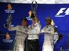 GP SINGAPORE, 18.09.2016 - Gara, Nico Rosberg (GER) Mercedes AMG F1 W07 Hybrid vincitore e Lewis Hamilton (GBR) Mercedes AMG F1 W07 Hybrid terzo