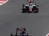 GP SPAGNA, 15.05.2016- Gara 2, Daniil Kvyat (RUS) Scuderia Toro Rosso STR11 e Romain Grosjean (FRA) Haas F1 Team VF-16