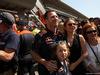 GP SPAGNA, 15.05.2016- Gara 2, Christian Horner (GBR), Red Bull Racing, Sporting Director e sua moglie