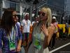 GP UNGHERIA, 24.07.2016 - Gara, (L-R) The girlfriend of Lewis Hamilton (GBR) Mercedes AMG F1 W07 Hybrid