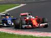 GP UNGHERIA, 24.07.2016 - Gara, Sebastian Vettel (GER) Ferrari SF16-H e Felipe Nasr (BRA) Sauber C34