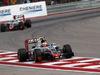 GP USA, 23.10.2016 - Gara, Esteban Gutierrez (MEX) Haas F1 Team VF-16 davanti a Romain Grosjean (FRA) Haas F1 Team VF-16