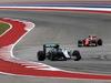 GP USA, 23.10.2016 - Gara, Nico Rosberg (GER) Mercedes AMG F1 W07 Hybrid e Kimi Raikkonen (FIN) Ferrari SF16-H