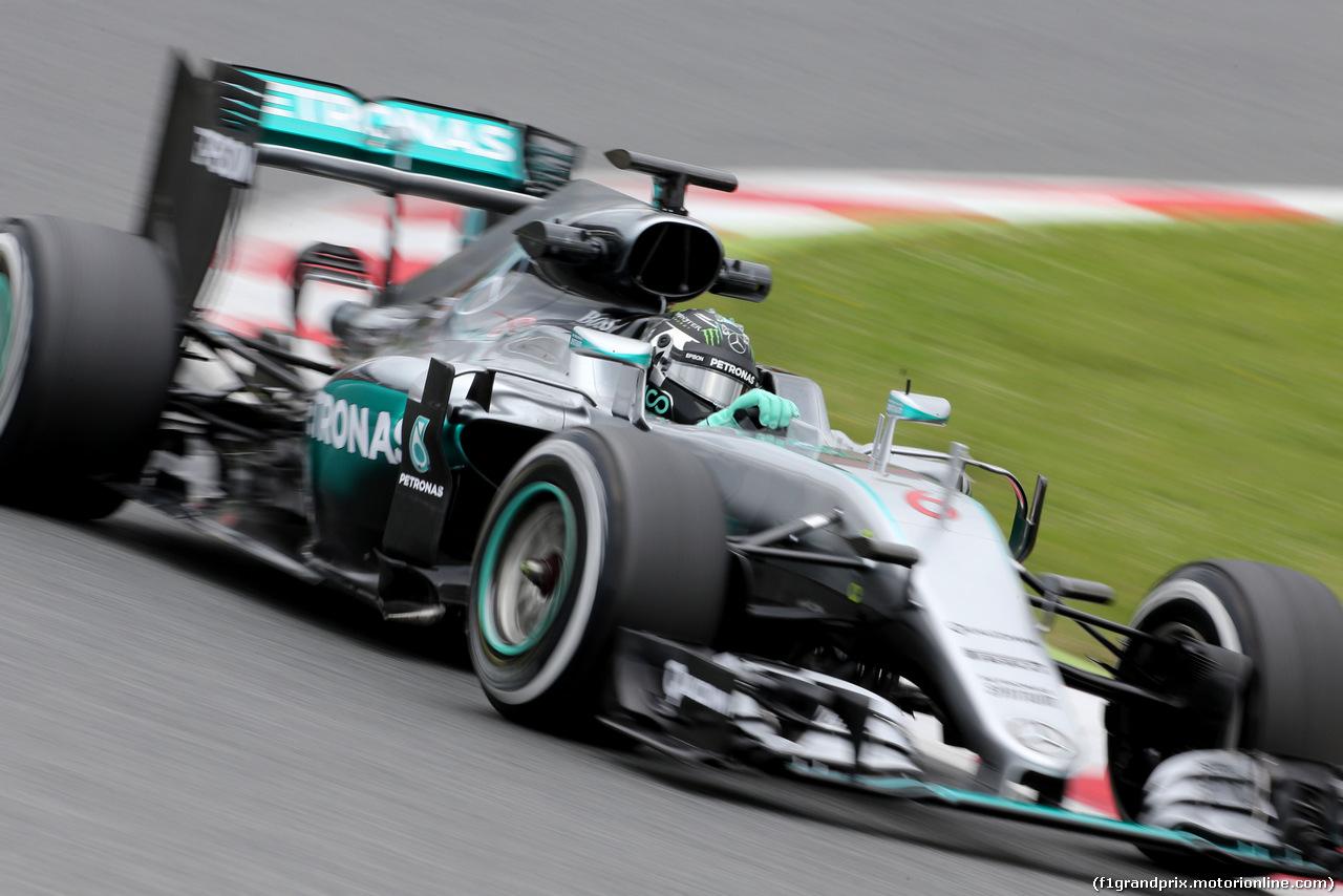 TEST F1 BARCELLONA 17 MAGGIO, Nico Rosberg (GER), Mercedes AMG F1 Team  17.05.2016.