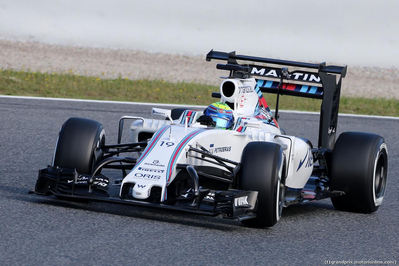 TEST F1 BARCELLONA 18 MAGGIO, Felipe Massa (BRA), Williams F1 Team  18.05.2016.