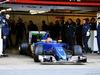 TEST F1 BARCELLONA 1 MARZO, Felipe Nasr (BRA) Sauber C35 leaves the pits. 01.03.2016.