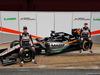 TEST F1 BARCELLONA 22 FEBBRAIO, (L to R): Sergio Perez (MEX) Sahara Force India F1 e Nico Hulkenberg (GER) Sahara Force India F1 unveil the Sahara Force India F1 VJM09. 22.02.2016.