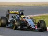 TEST F1 BARCELLONA 23 FEBBRAIO, Sergio Perez (MEX) Sahara Force India F1 VJM09. 23.02.2016.