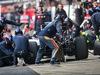 TEST F1 BARCELLONA 23 FEBBRAIO, Max Verstappen (NLD) Scuderia Toro Rosso STR11 in the pits. 23.02.2016.