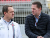 TEST F1 BARCELLONA 24 FEBBRAIO, (L to R): Steve Nielsen (GBR) Williams Sporting Manager with Jos Verstappen (NLD). 24.02.2016.