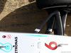 TEST F1 BARCELLONA 24 FEBBRAIO, Nico Rosberg (GER) Mercedes AMG F1 W07 Hybrid - front suspension detail. 24.02.2016.