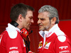 TEST F1 BARCELLONA 24 FEBBRAIO, (L to R): James Allison (GBR) Ferrari Chassis Technical Director with Maurizio Arrivabene (ITA) Ferrari Team Principal. 24.02.2016.