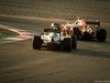 TEST F1 BARCELLONA 24 FEBBRAIO, Kimi Raikkonen (FIN) Ferrari SF16-H davanti a Lewis Hamilton (GBR) Mercedes AMG F1 W07 Hybrid. 24.02.2016.