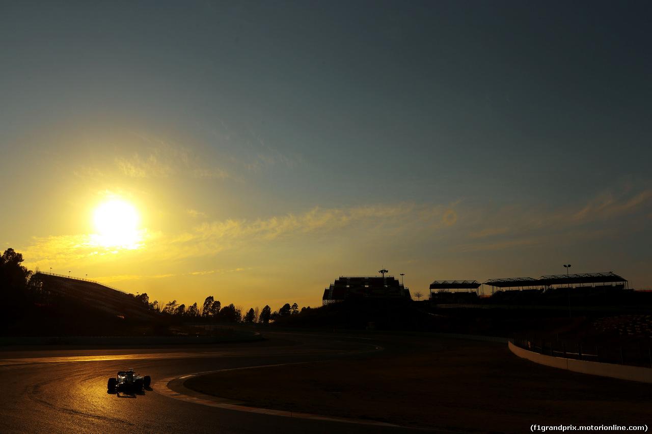 TEST F1 BARCELLONA 24 FEBBRAIO, Lewis Hamilton (GBR), Mercedes AMG F1 Team  24.02.2016.