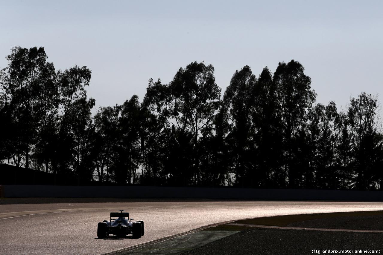 TEST F1 BARCELLONA 24 FEBBRAIO, Nico Hulkenberg (GER), Sahara Force India  24.02.2016.
