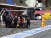 TEST F1 BARCELLONA 24 FEBBRAIO, Daniil Kvyat (RUS) Red Bull Racing RB12 stops in the pit lane. 24.02.2016.