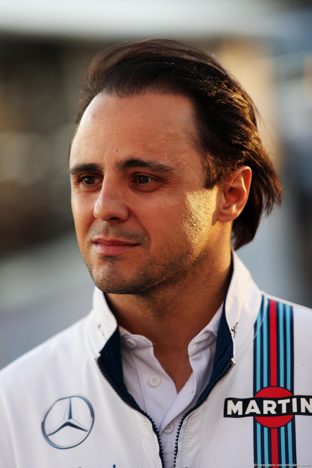TEST F1 BARCELLONA 2 MARZO, Felipe Massa (BRA) Williams. 02.03.2016.